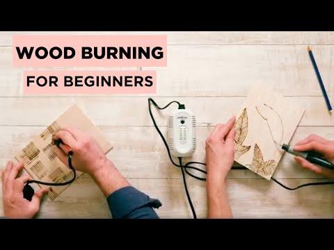 DIY Wood Burned Journals - Wood Burning for Beginners - HGTV Handmade