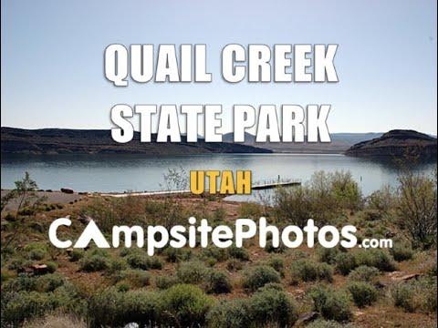 Quail Creek State Park, Utah Campsite Photos