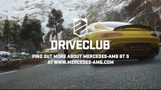 Experience the Mercedes-AMG GT S in DRIVECLUB!