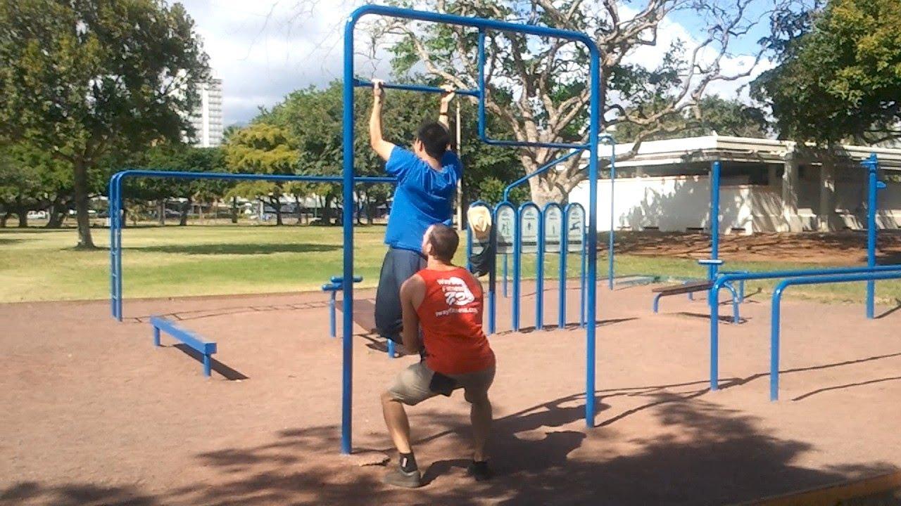Beginner Easy Bar Body Weight Workout Calisthenics 10