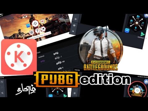 PUBG KineMaster Mod Apk With Tamil Font Free Download 2019