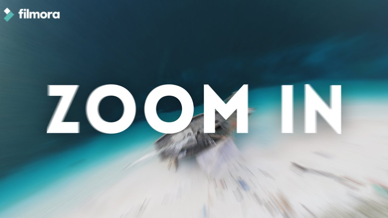 how to add zoom effect in filmora
