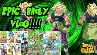 Dragon Ball Super Broly TCG Event & Movie Vlog!!!!