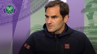 Roger Federer glad to be back at Wimbledon