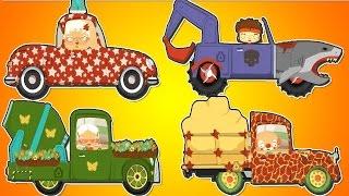 Мультики про машинки и автосервис сборник 30 минут. Про машинки для детей. Машинки для детей.