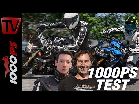 1000PS Test - Neu gegen alt - Suzuki GSX-S 750 vs. GSR 750