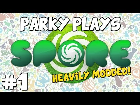 Let's Play Spore (Modded Playthrough) - Part 1 - Welcome to Modistan
