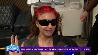 Anamaria Prodan, la terapia vampir si terapia cu laser