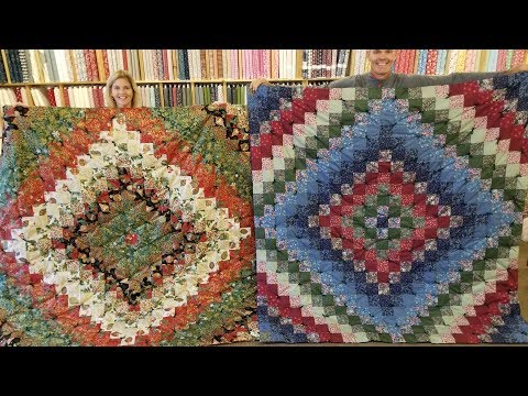 "how-to-make-a-""trip-around-the-world""-quilt-the-easy-way!"