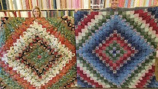 """How To Make A """"Trip Around The World"""" Quilt the EASY WAY!"""