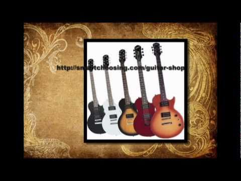 Electric Guitar Shop - Choose The Best One