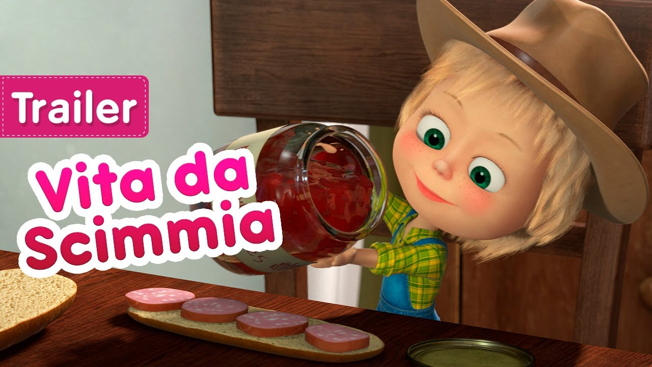 Masha e Orso - 🐵 Vita da Scimmia 🍌 (Trailer) Arriva il 8 agosto! 💥
