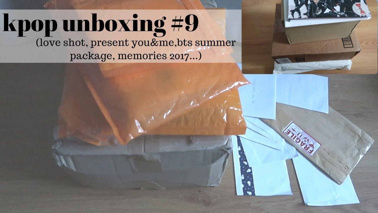 Kpop Unboxing Bts Summer Package Memories 2017 Got7 Exo Vivace