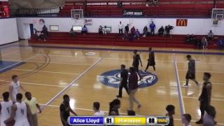 NCCAA Basketball Mid-East Regional: Hiwassee vs. Alice Lloyd: 7:00 PM