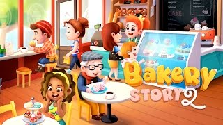 Official Bakery Story 2: Love & Cupcakes (by Storm8) Launch Trailer (iOS/Android)