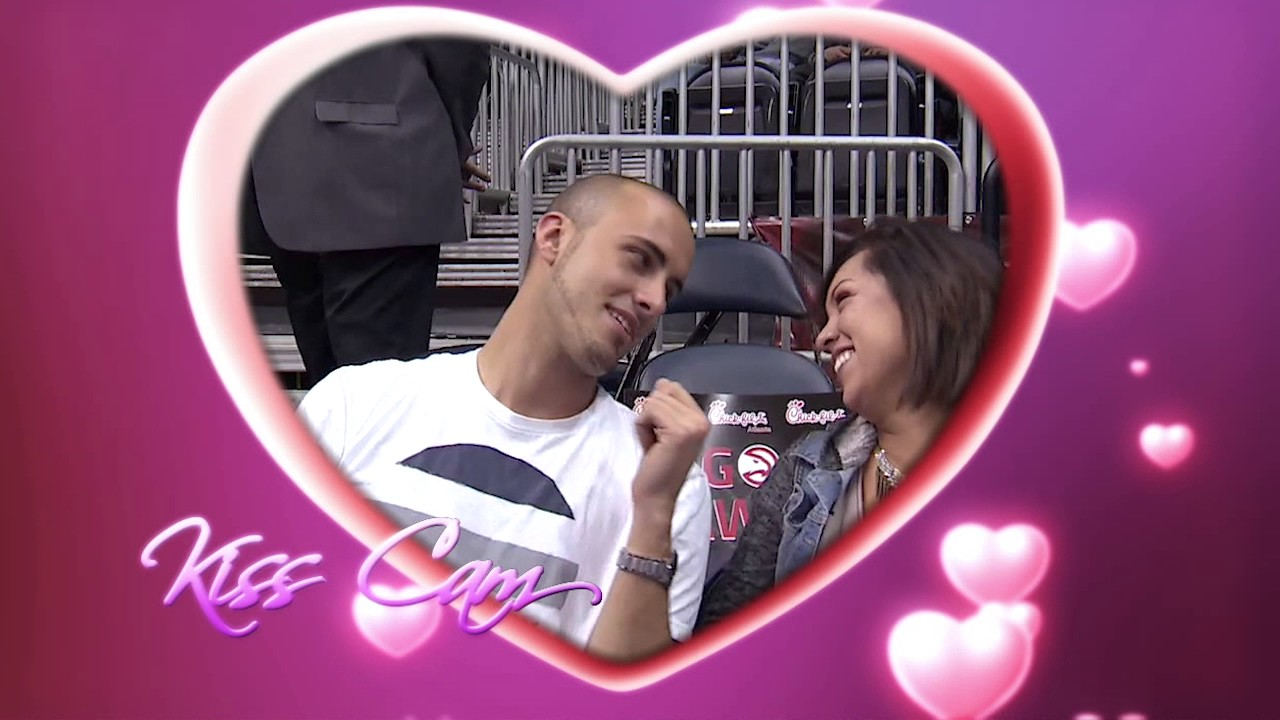 Download Fan Attempts Proposal During Hawks Kiss Cam, Drops Ring
