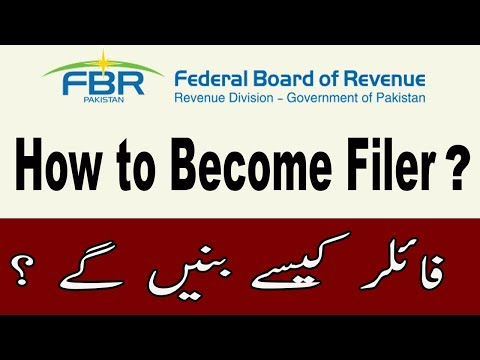How to Become Filer on FBR Iris Online in Pakistan
