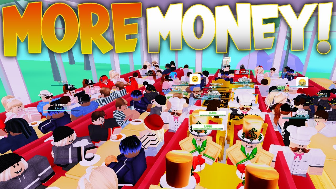 *NEW* How To Get EASY And FAST Money! My Restaurant Roblox