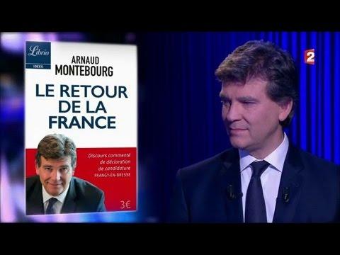 Arnaud Montebourg - On n'est pas couché 10 décembre 2016 #ONPC