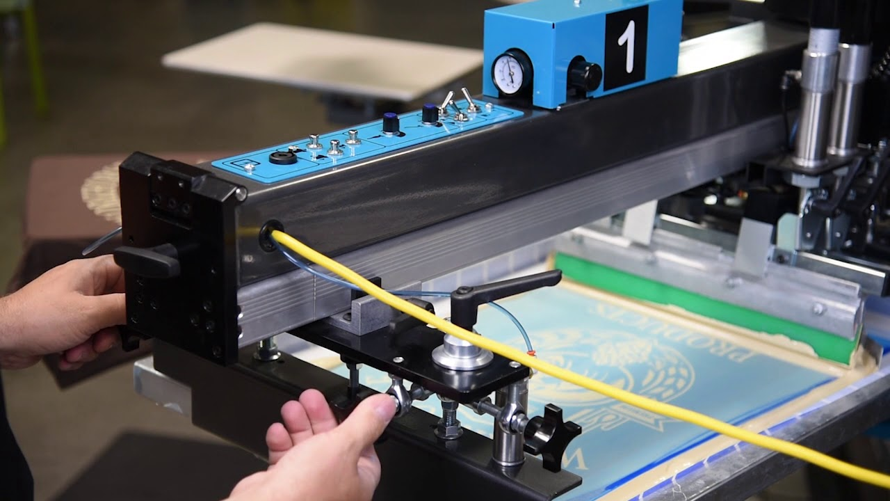 Using the Micro Registration Knobs on Your Workhorse Automatic Press