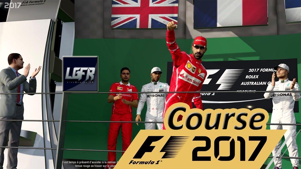Formule 1 2017 - Grand Prix d'Australie [Course] #Ferrari