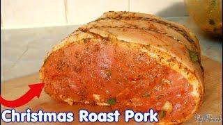 Christmas Roast Pork !!!!!!!! Jamaican Way