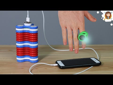 How to Make a Power Bank With Fidget Spinners