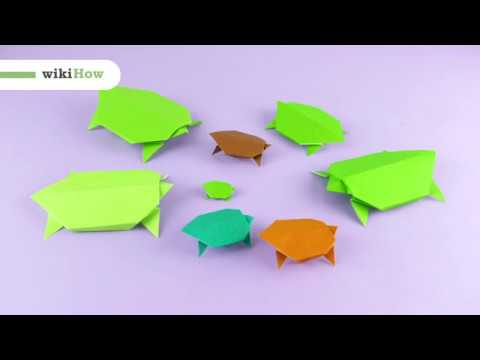 Origami Turtle - How To Make Origami Turtle Easy - YouTube | 360x480
