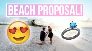 ROMANTIC PROPOSAL IN TURKS AND CAICOS!