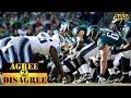 Philadelphia Eagles - Tennessee Titans Postgame | Agree 2 Disagree