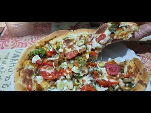 صورة  طريقة عمل البيتزا طريقه عمل البيتزا بالكبده طريقة عمل البيتزا من يوتيوب