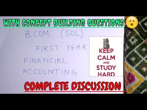 HIRE PURCHASE SYSTEM B COM 1st YEAR SOL REGULAR FINANCIAL ACCOUNTING COMPLETE DISCUSSION PART1