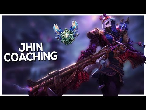 [Diamond V] Jhin Coaching | Advantages and Disadvantages | Mechanics | Out of lane