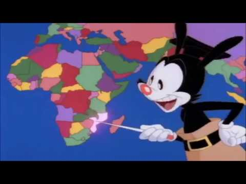 Repeat yakko warner nations of the world but its only the