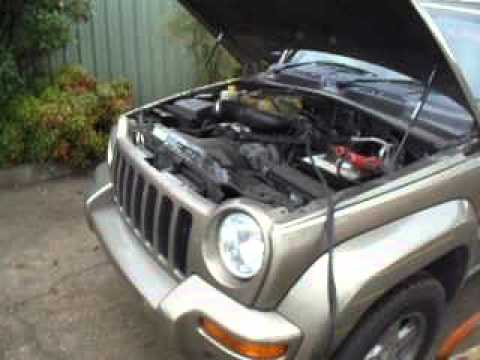 jeep cherokee kj 3 7 v6 engine running at narellan parts. Black Bedroom Furniture Sets. Home Design Ideas