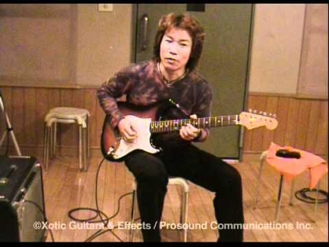 """Intervie with Takayuki Hijikata """"Xotic Pickup XP-ST1"""""""