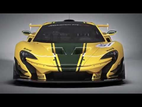 McLaren P1 GTR revealed
