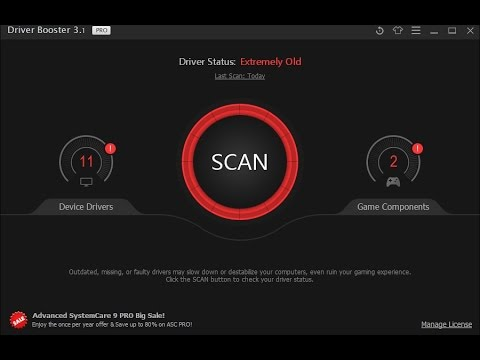 Driver booster 3. 1 pro +365 days key (don't spend $ ) youtube.