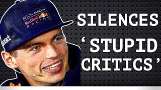 Verstappen Silences 'Stupid Critics' - Chequered Flag Automation? - Reverse Grids to Fix Overtaking?