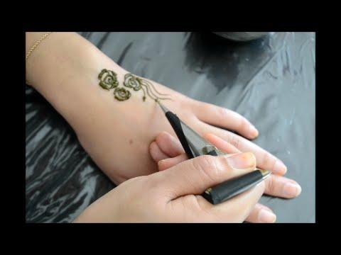 DIY henna cone:comment fabriquer l cone du henné et l'utiliser