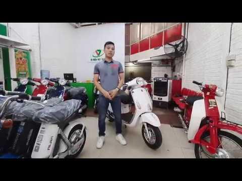 Xe Ga Vespa 50cc Espero - Không Cần Bằng Lái Xe - Tiết Kiệm Nhiên Liệu