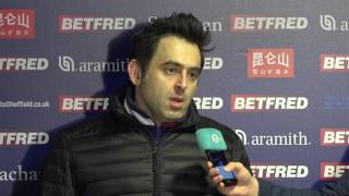 Ronnie O'Sullivan - Full 1st Round Press Conference