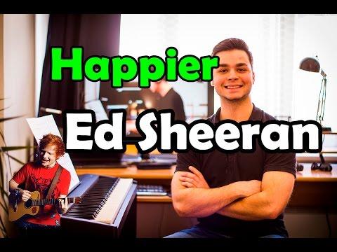 happier ed sheeran piano sheet music pdf