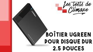 Test d'un boîtier Ugreen pour disque dur SSD ou HDD 2.5 pouces