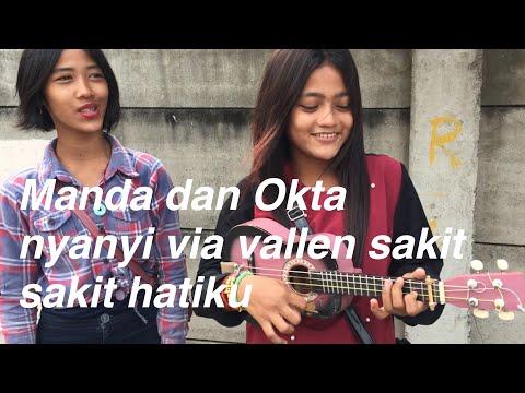 Pengamen Cantik Ini Nyanyi Lagu Via Vallen Sakit Sakit Hatiku Asiik Banget!!