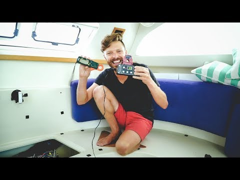 Air Conditioning on a Sailboat? Yes, & It's Battery Powered!