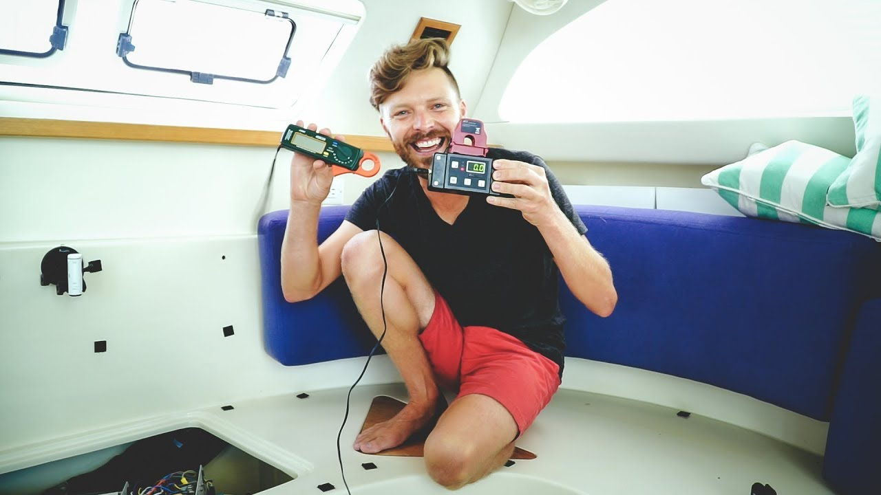 Air Conditioning On A Sailboat Yes It S Battery Powered