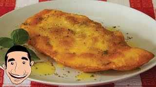 How To Make Fried Calzone | Deep Fried Calzone Pizza Recipe