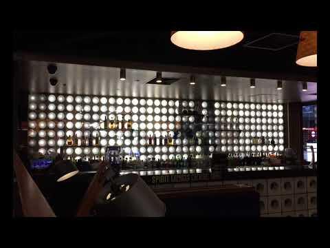 Strike Bowling Melbourne Central Bar Bottle Display