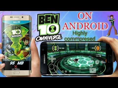 [95 MB] Ben 10 Omniverse Wii On Android || Highly Commpresed || High Graphics || Hindi